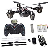 Holy Stone Mini RC Drone with 720p HD Camera 6-Axis Gyro 2.4 GHz,come with 2 Batteries & 8 Blades(Exclusive Design Sport Copter)
