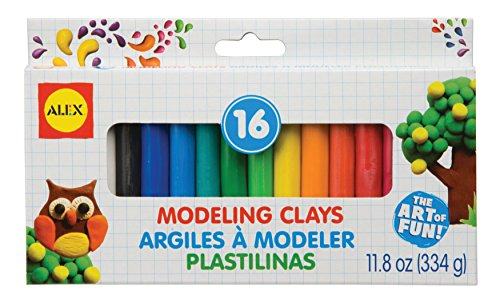 ALEX Toys Artist Studio 16 Modeling Clay (Modeling Beeswax compare prices)