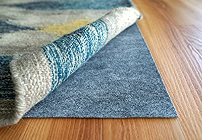 RugPro Ultra Low Profile by Rug Pad USA, Non-Slip for Hard Surfaces & Hardwood Floors, Reversible for Rug on Carpet, Area & Runner Rug Pad - Made in USA