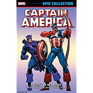 Captain America Epic Collection: Society of Serpents (Captain America (1968-1996))