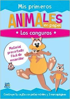Mis primeros animales en papel: Los canguros (Trabajos