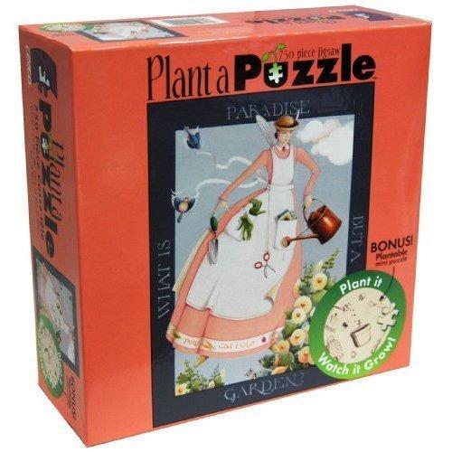 Plant a Puzzle PARADISE 750 Piece Puzzle plus Bonus Mini puzzle 750 Piece Puzzle - 1
