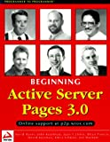 Beginning Active Server Pages 3.0 (1861003382) by Ullman, Chris