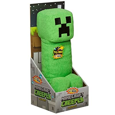 Minecraft Creeper Plush With Sound 15 by Spin Master