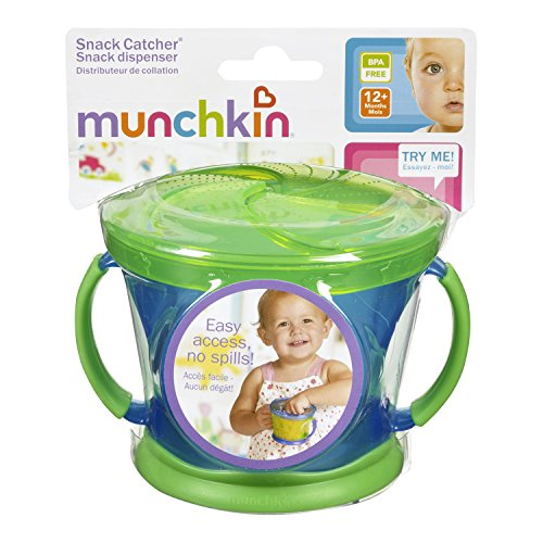 Munchkin Snack Catcher, 9 Ounce, 12+ Months, color may vary - 1