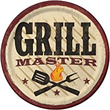 BBQ Grill Master 7-inch Plates