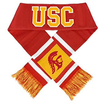 Buy NCAA USC Trojans 2012 Team Stripe Scarf by Forever Collectibles