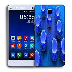 Snoogg Blue Balls Printed Protective Phone Back Case Cover For Xiaomi Mi 4