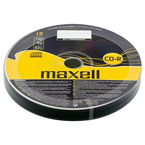 maxellr-cd-r-cdr-52x-speed-700-mb-80-min-10-pieces-10pcs-blank-discs-10-cds-pack-4-packs-40-cds