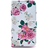 delightable24 Schutzh�lle Case Bookstyle SAMSUNG GALAXY S4 Smartphone - Blooming Flowers Edition