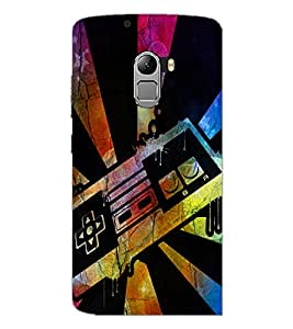 PrintDhaba Abstract Image D-4351 Back Case Cover for LENOVO VIBE X3 c78 (Multi-Coloured)
