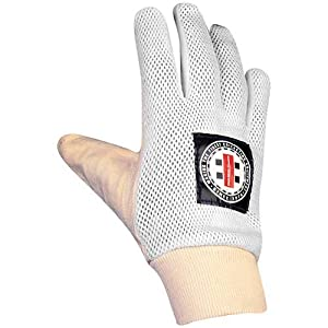Gray-Nicolls Inner Padded Chamois Palm Cricket Glove - One Color Large