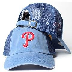 Philadelphia Phillies MLB American Needle Raglan Bones Soft Mesh Back Slouch Twill... by American Needle