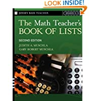 The Math Teacher's Book Of Lists: Grades 5-12, 2nd Edition