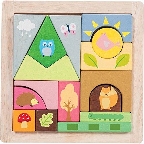 le-toy-van-pl002-woodland-puzzle-blocks