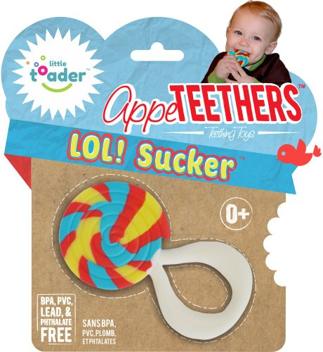 Little Toader Teething Toys, Lol Sucker - 1