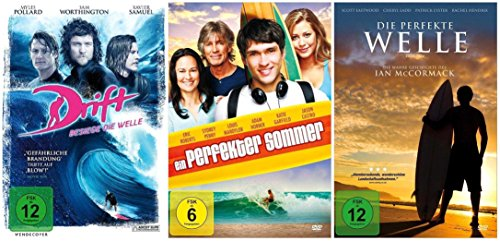 Die Surfer Film-Fan-Collection ( 3 DVD-Filmhits zum Surfen )