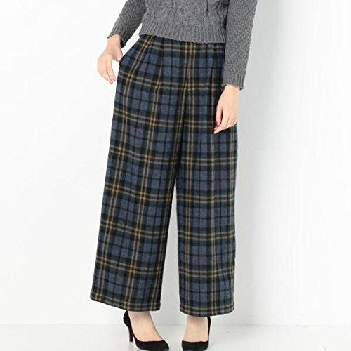 Amazon.co.jp: アナザーエディション(Another Edition) ウールチェックワイドパンツ/AEBC W CHK WID PT: 服&ファッション小物