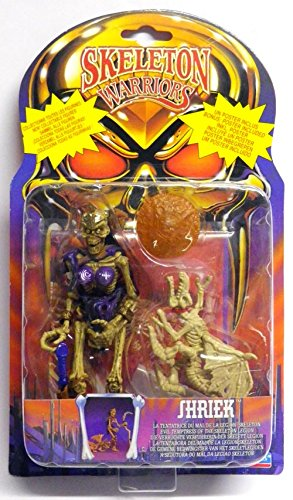 Skeleton Warriors Shriek Evil Temptress Action Figure - 1