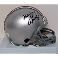 Hopalong Cassady Signed Autograph Ohio State Buckeyes Osu Mini Helmet Authentic Certified Coa