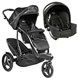 Graco Trekko Duo Tandem Travel System Stroller - Sport Luxe + Second Seat + Carseat + FREE Raincover