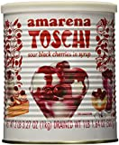 Toschi Amarena Cherries in Syrup, Black, 1 kg, 2.2 lb