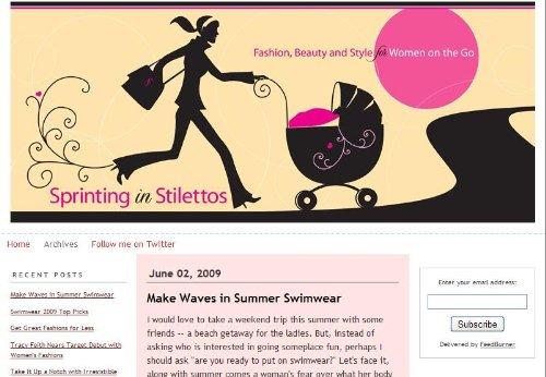 Sprinting in Stilettos
