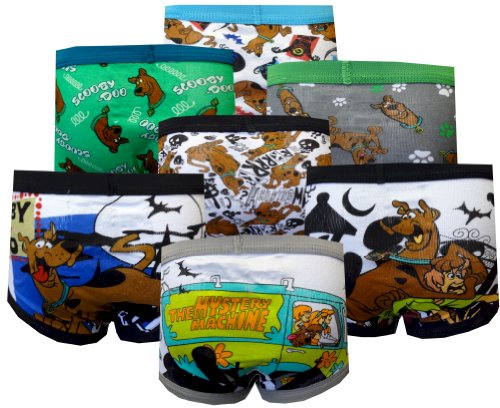 Scooby Doo Boys Toddler 7 Pack Briefs For Boys (2T-3T) back-998488