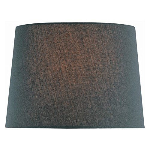 Lite Source CH1151-16BLK 16-Inch Lamp Shade, Black