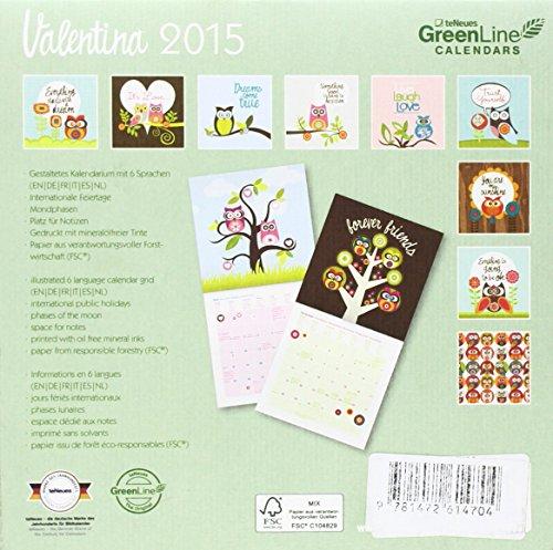 2015 Valentina Ramos Calendar 175 X 175c
