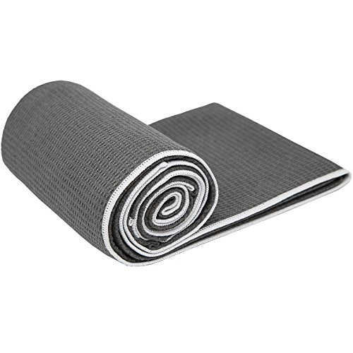 1-Rated-Hot-Yoga-Towel-Shandali-Stickyfiber-Yoga-Towel-Mat-Sized-Microfiber-Super-Absorbent-Anti-slip-Injury-Free-24-x-72-Best-Bikram-Yoga-Towel-Exercise-Fitness-Pilates-and-Yoga-Gear-Lifetime-Guarant