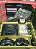 SEGA GENESIS System With SONIC THE HEDGEHOG 2