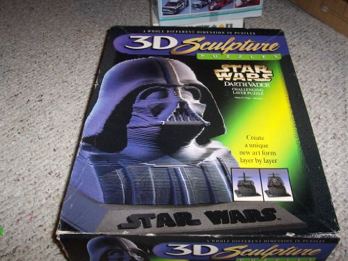 Cheap Milton Bradley Star Wars Darth Vader 3D Sculpture Puzzle (B000PG2DFO)