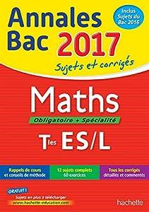 """Afficher """"Maths, obligatoire + spécialité, terminales ES, L"""""""