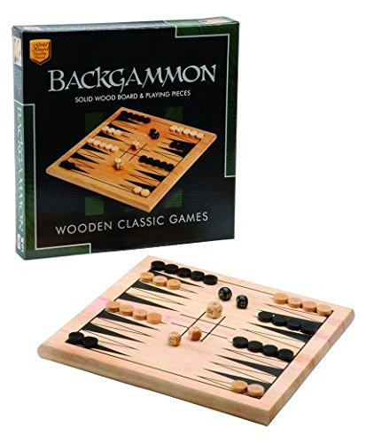 Backgammon Madera - John Adams 8384