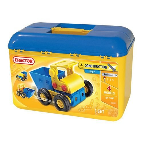 Erector Easy Toolbox Construction Set - 1