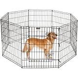 "Pet Trex 30"" Playpen for Dogs Eight 24"" x 30"" High Panels"