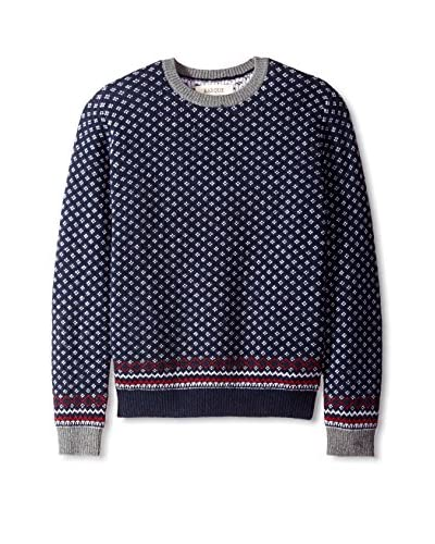 Barque Men's Snowflake Sweater