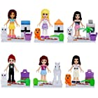 Friends Girls Series Lot of 6 Set Mini Figures Building Block Kids Toy Gift New