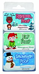 Holiday Poop Mint Tins (3)