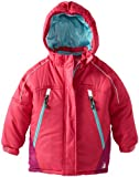 Rugged Bear Little Girls  Solid Ski Jacket with Contrast Lining