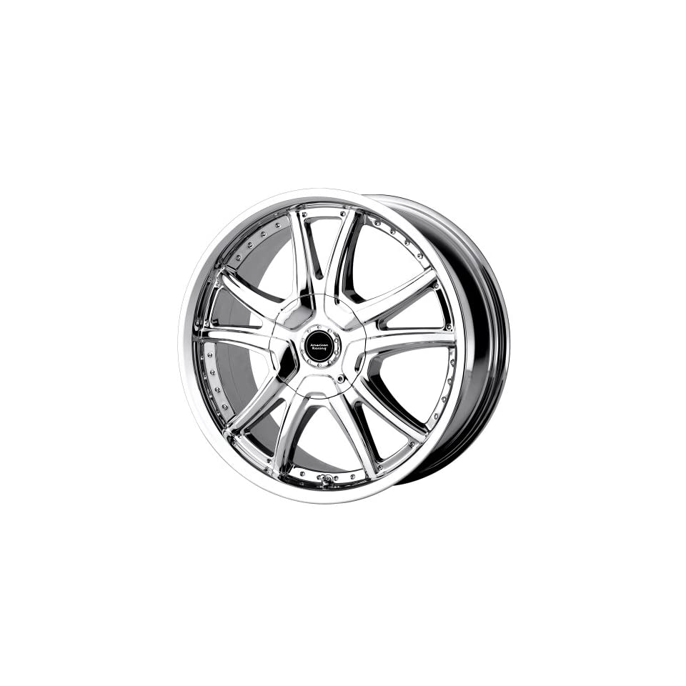 American Racing Alert AR607 Chrome Wheel (17x7.5/5x108mm)