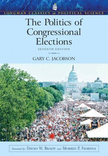 The Politics Of Congressional Elections- (Value Pack w/MySearchLab) (7th Edition)