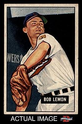 1951 Bowman # 53 Bob Lemon Cleveland Indians (Baseball Card) Dean's Cards 2 - GOOD