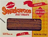51768NKQBBL. SL160  Smackaroos Diet Treats Plain Low Carb Crackers