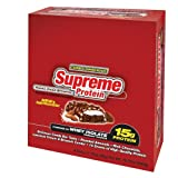 Supreme Protein 50 g Rocky Road Brownie Whey Protein Snack Bars - Box of 9