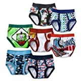 51769rv85mL. SL160  Thomas the Train Toddler Boys Briefs 7 Pair Pack (2T/3T)