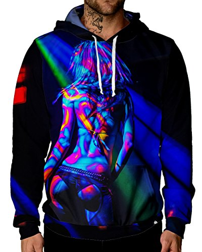 INTO THE AM Center Stage Premium Rave Hoodie (Small)