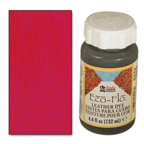 4 Ounce Scarlet Red Eco Leather Dye Tandy Leather 2600-11 (Scarlet Red Dye compare prices)