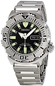 Seiko Divers Automatic Black Monster SKX779K Men's Watch